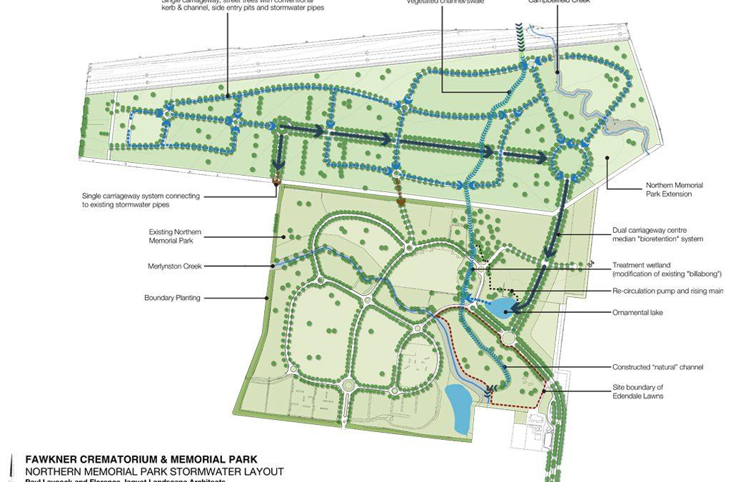 Northern Memorial Park Masterplan