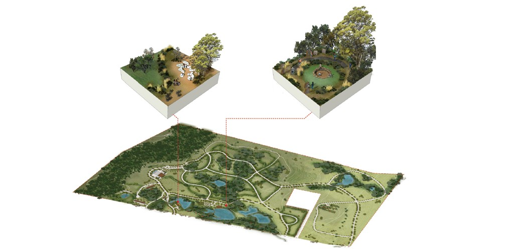 landscape architecture cemetery project plan