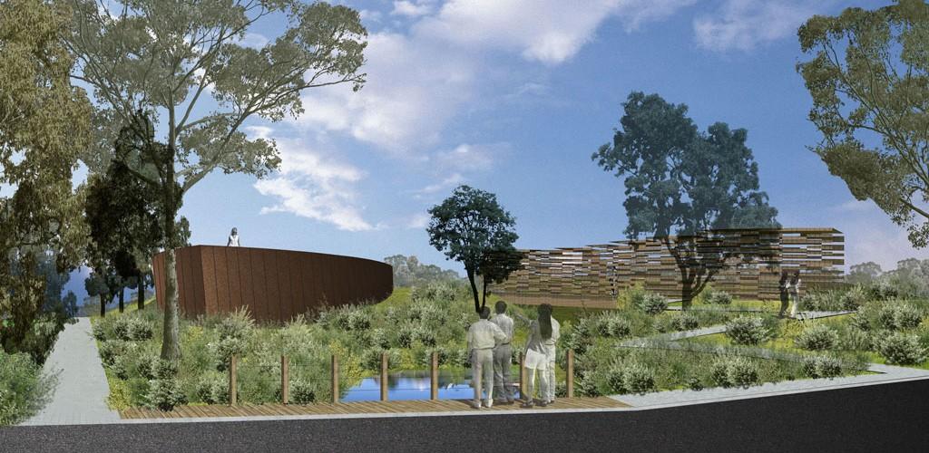 WSUD VIC project landscape architecture