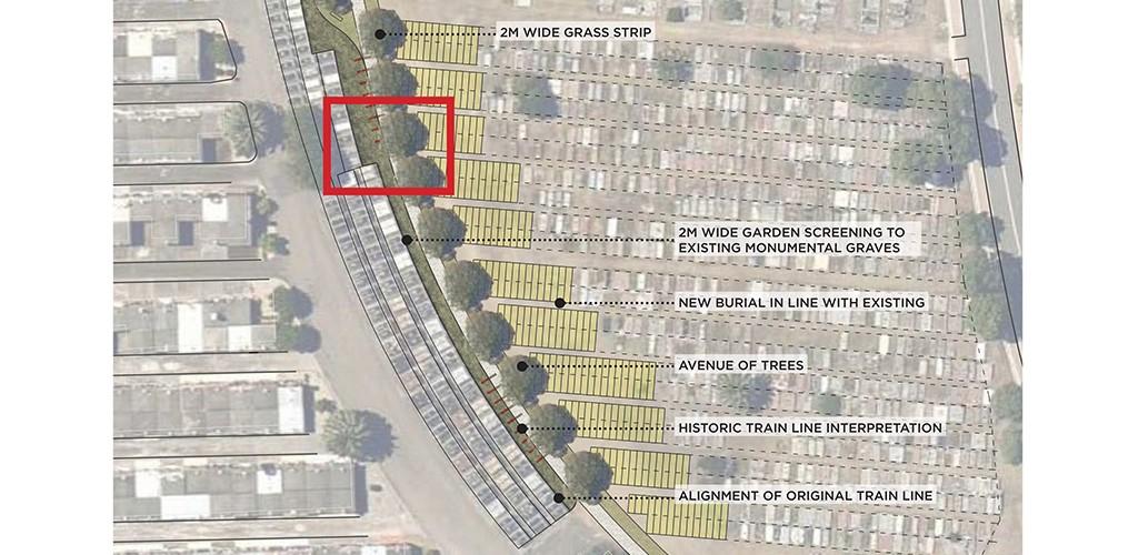 Rockwood cemetery plan