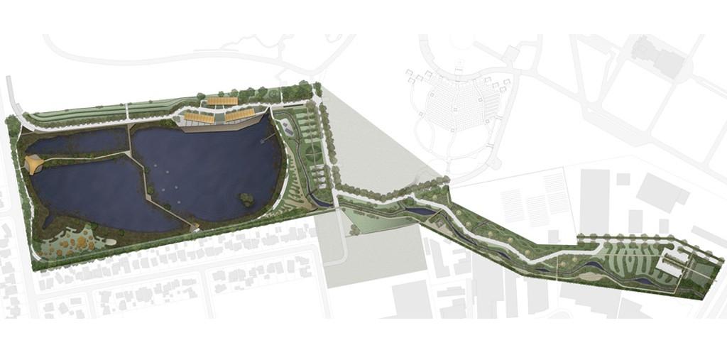 WSUD VIC project landscape architecture plan
