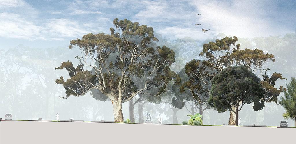 Mona Vale cemetery landscape plan