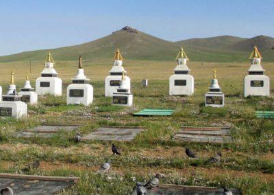 Mongolian Cemeteries