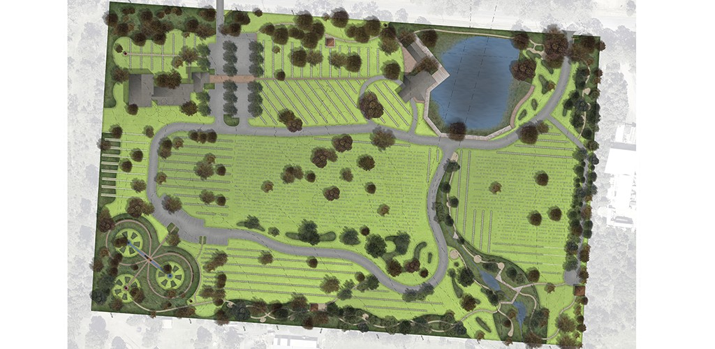 Kemps creek cemetery landscape architecture planning