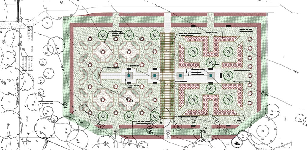 Garden of all seasons cemetery plan