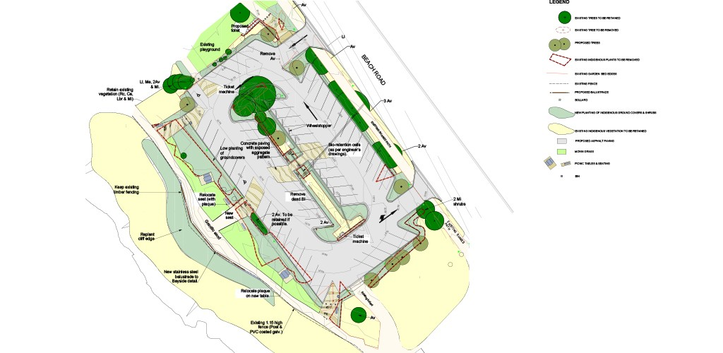 Bayside Carparks WSUD plan